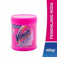Vanish Penghilang Noda Pakaian 400 gr Bubuk Pemutih Baju Oxi Powder