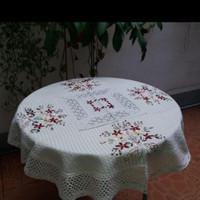 taplak meja bulat/meja osin/meja makan 90cm