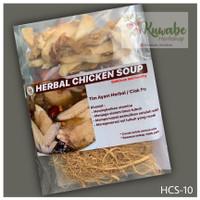 HCS-10/HERBAL CHICKEN SOUP 10 MACAM HERBAL/TIM AYAM HERBAL GINSENG