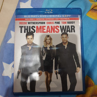 Blu ray This Means War Reg A US - Second (No DVD)
