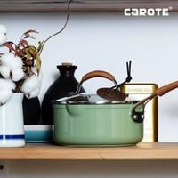 Carote Bio Green Sauce Pan 16 Cm With Lid