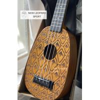 GITAR UKULELE PINEAPPLE MAHALO / ukulele nanas / ORIGINAL SPECIAL ED