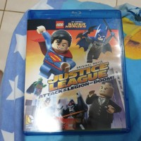 Blu ray Lego Justice League Attack of the Legion of Doom Reg A US