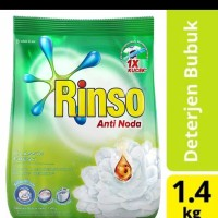 Detergen Bubuk RINSO Anti Noda 1,4 kg