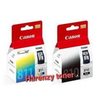 Paket tinta Canon PG 810 811 black & colour original Ink catridge
