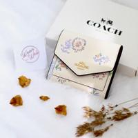 Coach Women Floral Wallet