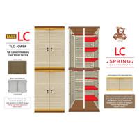 Lemari Plastik Gantung Tinggi Club (Tall LC) Kunci