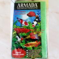 Media Filter Biofill Hijau Armada ukuran 50cmx30cm 2 lapis