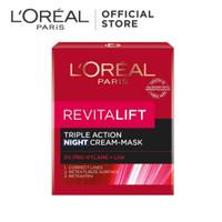LOREAL REVITALIFT LASER X3 NIGHT CREAM / Krim Malam Anti Aging 50ml
