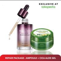 MISSHA Repair Package : Night Repair Probio Ampoule + Cica Aloe Gel