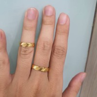 Cincin Couple Model Terbaru Cincin Kawin Tunangan Dapat Sepasang