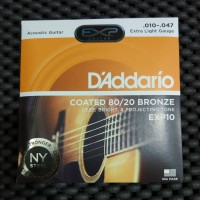 Daddario EXP10 - Senar Gitar Akustik Original D'addario 010