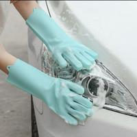 Sarung Tangan Silikon Serbaguna Silicone Dishwashing Magic Glove