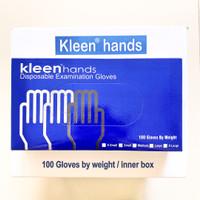 Kleen Hand Gloves. No powder