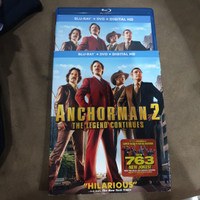 Blu ray Anchorman 2 Reg A US Slipcover - Second (1 bluray baret tipis)