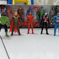 action figure avengers set isi 5
