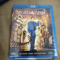 Blu ray Night at the Museum Reg A US - Second (cover robek)