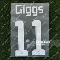 [ NAMESET ] JERSEY MANCHESTER UCL 2013/2014 GIGGS