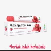 Pasta gigi herbal anak rasa strowberi