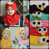 Jilbab Anak Balita Elmo