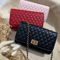 Tas CK locky quilted clutch original