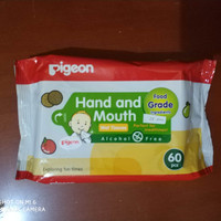 Pigeon Hand and Mouth Wet Tissue 60pcs