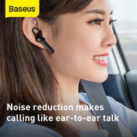 baseus hf handsfree earphone wireless bluetooth 5.0 single magnet A05