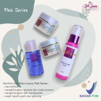 Paket luxury flek/cream wajah/theraskin/msglow/cream pemutih/whitening