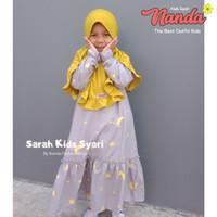 Baju Gamis Anak Usia 7-9 Tahun Baju Muslim Anak Perempuan SARAH KIDS