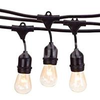 Volic - Fitting Lampu Gantung Outdoor (5m & 5 fitting)