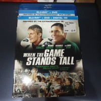 Blu ray When the Game Stands Tall Reg A US Slipcover - Second