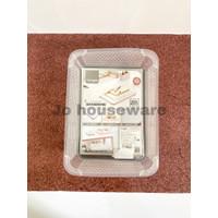 Keranjang plastik serbaguna basket nampan tempat kotak box wadahPC-34M