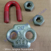 """Wire Clip / Klem Seling / Kuku Macan Type G-450 5/16"""" (8mm) Crosby"""