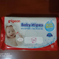 Pigeon Baby Wipes Pure Water 82wipes