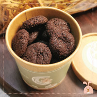 Soft cookies in minis round box - Mix 3