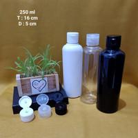 Botol Putih Susu 250ml + Fliptop