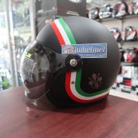 Hiu Vigo Black Matt Motif Classic Italy