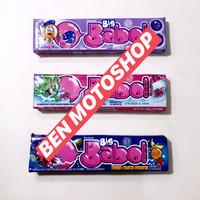 Permen Karet Big Babol Stick 1 Pcs Tutti Frutti Stroberi Blueberry Pak