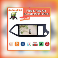 Head unit android 9 2GB Kia Picanto 2011-2015 SPLIT SCREEN IPS 2.5D