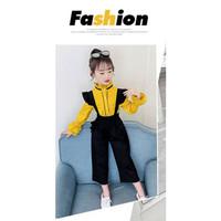 Setelan Baju Anak Perempuan Remaja Fashion Korean Modis Kekinian