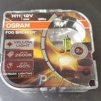 Bohlam Lampu Kuning OSRAM H11 FBR Fog Breaker 12V 55W
