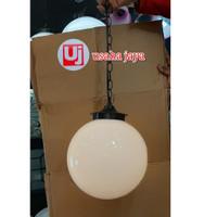 lampu gantung hias bola susu