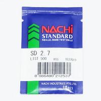 mata bor nachi twist drill 2.7mm shank bits besi alumunium plastik