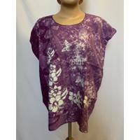 baju atasan wanita tipis bali top abstrak sablon dingin rayon baju