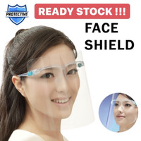 Face shield kacamata Ready stock
