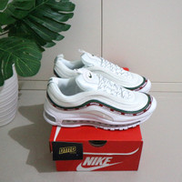 Sepatu Nike Air Max 97 Undefeated White - Premium Original