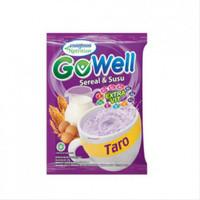 Gowell sereal susu rasa taro renceng isi 10