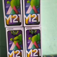 Samsung galaxy M21 ram 4/64 garansi resmi new Segel
