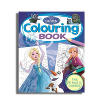 FROZEN Colouring Book by Disney / Buku Import Anak Mewarnai