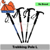 Trekking pole T / Tongkat pendaki handle T - L